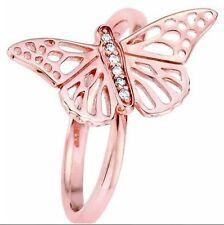 Clogau 9 Carat Rose Gold Fine Diamond Rings