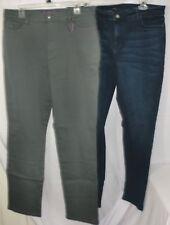 Lot of 2 Womens Jeans ~ Size 16 ~ Ann Taylor Modern ~ Gloria Vanderbilt Amanda