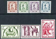 BELGIUM-1956 Anti TB Fund Sg 1589-95 UNMOUNTED MINT V32072