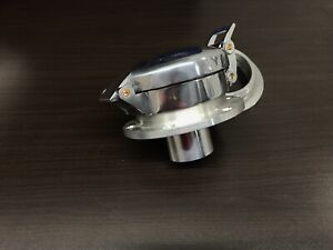Corvette  Rat Rod Flip Up Gas Fuel Cap Shelby Cobra Leman Porsche Polished Alum