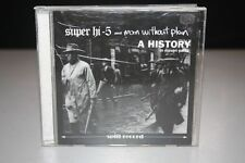 SUPER HI-5 and MAN WITHOUT  PLAN A History in eleven Parts - CD - PUNK ROCK