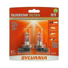 Sylvania Silverstar ULTRA  H11 Pair Set High Performance Headlight 2 Bulbs