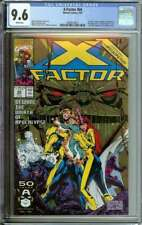 X-FACTOR #66 CGC 9.6 WHITE PAGES