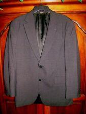 Jos. A Bank Mens Size 40R Black Gray Checked 100% Wool Sport Coat Jacket Blazer