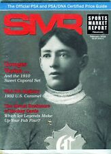 New listing FEB 2016 GEORGES VEZINA COVER SMR PSA SPORTS MARKET REPORT PRICE GUIDE  MINT