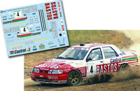 Decal 1:43 Patrick Snijers - FORD SIERRA COSWORTH - Rally El Corte Ingles 1991