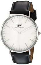 Original Daniel Wellington Classic Sheffield silber 36mm DW00100053 NEU