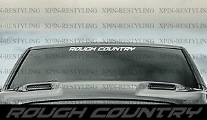 Rough Country Windshield Banner Decal Sticker
