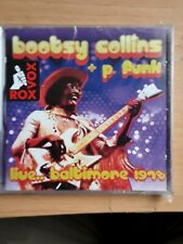 Bootsy Collins + P. Funk - Live.. Baltimore 1978 (2017)  CD  NEW  SPEEDYPOST