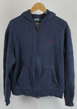 Polo Ralph Lauren Blue Zip Up Hoodie Sz M