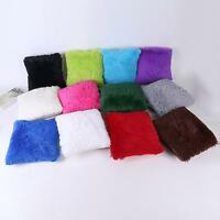 Pillow Case Sofa Waist Throw Cushion Cover Home Decor Sea Lion Velvet Pillowcase