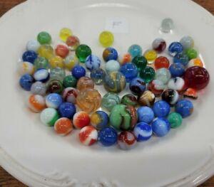 RARE Antique Vintage Marbles Lot • US UK GERMAN WORLDWIDE Collector Estate ☆F