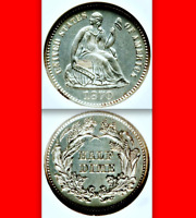1870 NGC PR64 █ White ☗ Non-Doctored ◉ $860 ✭Amazing PROOF Seated Half Dime H10C