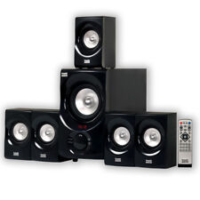 GOLDWOOD SOUND INC Powered 5.1 Multimedia Home Theater Speaker System