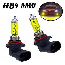 2x HB4 55W 12V P22d Jurmann Aqua Vision Yellow Gelb Scheinwerfer Halogen Lampe