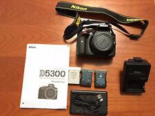 Nikon d5300 Solo Body Pochissimi Scatti (MENO DI 1000) COME NUOVA!!!
