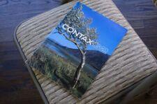 sold -- Nr Mint Contax brochure for G2 RF AF cameras + 45mm 28mm 21mm g lenses