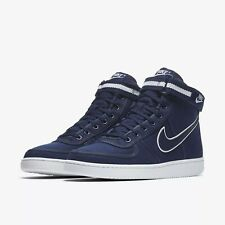Nike Vandal High Supreme Navy Blue Athletic Casual Shoes 318330-402 Size US 10