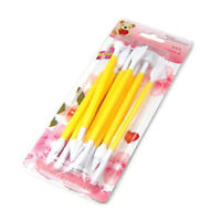 Domire Cake Decorating Sugarcraft Modelling Tools Kit 8 Pieces Yellow D1H1
