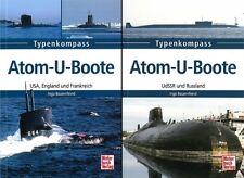 Types de boussole sous-marins nucléaires, volume 1 & 2 uboot-types-Livre/Modèles/données/Manuel