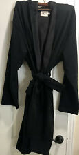 Ugg Men's Brunswick L/XL Black Hooded  Robe