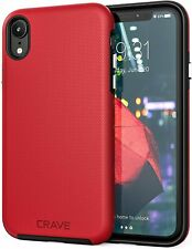 "Crave Dual Guard Protection Series Case for Apple iPhone XR (6.1"") - Red"
