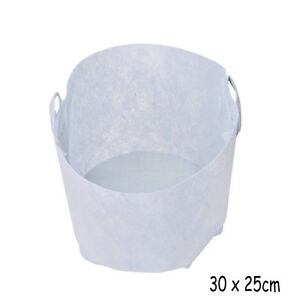 Round Fabric Pots Root Container Grow Bag Plant Pouch Aeration Container 3 Sizes