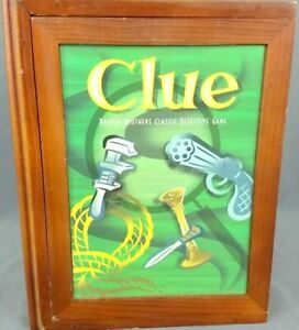 Clue Bookshelf Edition Board Game Replacement Parts & Pieces 2012 PB Hasbro