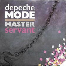 "45 TOURS / 7"" SINGLE--DEPECHE MODE--MASTER AND SERVANT--1984"