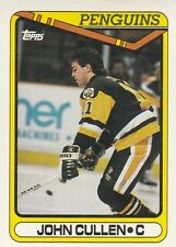PITTSBURGH PENGUINS JOHN CULLEN 1990-91 TOPPS #208