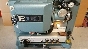 Eiki RT-0 16mm Sound Projector for Parts or Repair