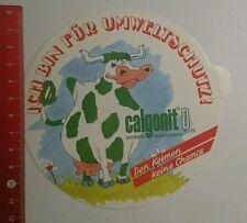 Aufkleber/Sticker: Calgonit D flüssig ich bin für Umweltschutz (03091698)