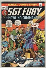 Sgt. Fury and His Howling Commandos #110 May 1973 VG Severin Cover