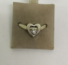 Chamilia Jewelry Jeweled Heart Swarovski Crystal CZ Sterling Silver Charm Bead