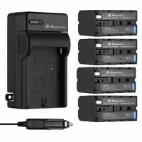 8800mAh NP-F970 NP-F960 Battery / Charger for Sony NP-F550 NP-F950 NP-F770 F570