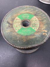 Vintage 1964 Kanthal A1 Wire Resistance Resistor on Wood Spool
