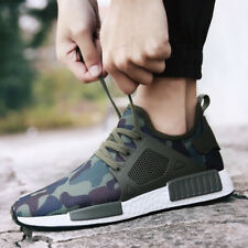New Mens Trendy Camo Net Cloth Breathable Shoes Low-cut Running Casual Sneakers