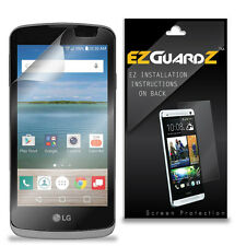 4X EZguardz LCD Screen Protector Skin Cover Shield HD 4X For LG Optimus Zone 3