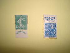 2 timbres : n°188  et n°257