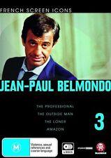 French Screen Icons - Jean-Paul Belmondo - 03 (DVD, 2009, 4-Disc Set) Region 4