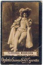 Ogden's Guinea Gold Cigarettes Florence Morrison ME32 Card Base M