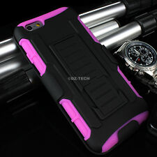 For Apple iPhone 6 S Rugged Case Cover Belt Clip Holster Kickstand +Glass Screen
