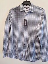 Michael Kors Men's Size L Slim Fit Shirt Long Sleeve Button Down New With Tags