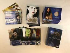 ONCE UPON A TIME SEASON 1 Card Set w/ Chase Costumes M1-M13 & AUTOGRAPHS A1-A11