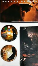 Batman Begins Special Edition (2 Dischi) Dvd Cartonato