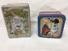 Two Vintage Mary Englebreit Collector Tins