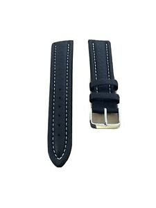 Vintage Look  leather 20mm strap and 16mm buckle Good Condition