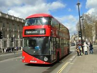 New bus for London- Borismaster LTZ1501 Go Ahead London 6x4 Quality Bus Photo