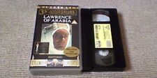 LAWRENCE OF ARABIA Widescreen Restored 35th Anniversary UK PAL VHS VIDEO 1996