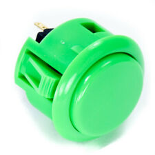 Sanwa OBSF-30mm Snap-in Button-GREEN-OEM